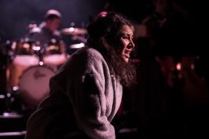 Eve Polycarpou in stunning form. Photograph: Courtesy of Scott Rylander.